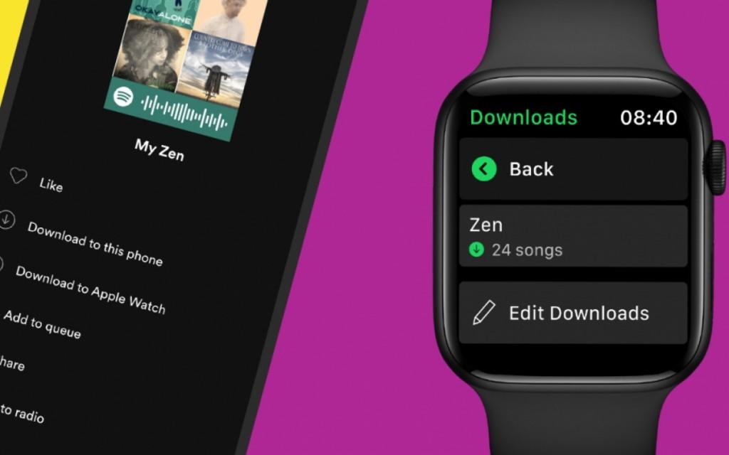 سوبتيفاي تسمح بتنزيل الموسيقى على اجهزة ابل واتش